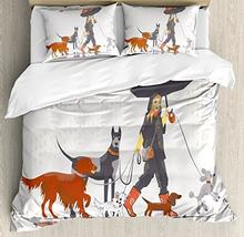 Ambesonne Dog Lover Decor Duvet Cover Set, - €145,41 EUR