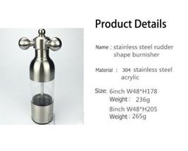 304 stainless steel rudder-shaped tube Mill Pepper restaurant kitchen fauce - €18,08 EUR+