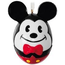 Mickey Mouse Easter Egg Porcelain 2018 Hallmark Disney Ornament Pluto Mi... - $19.79