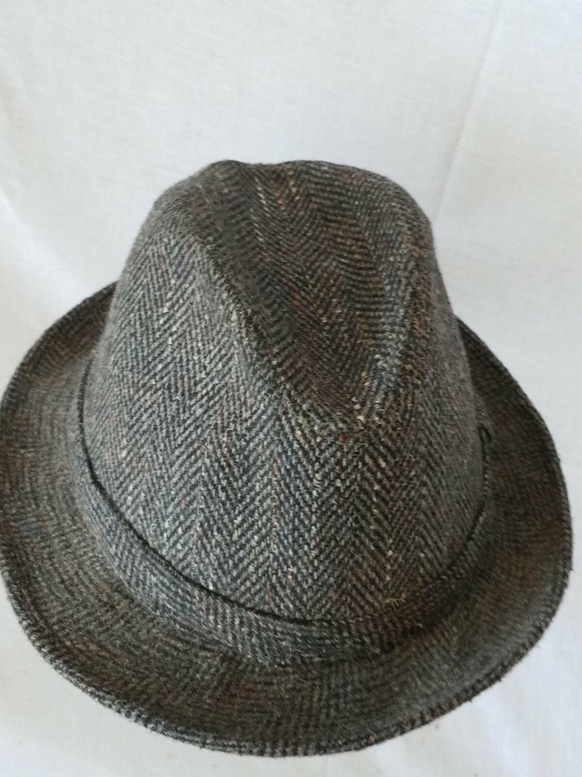 Dorfman Pacific Co. Gray Grey Fedora Hat image 2
