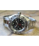 Vostok Komandirskie Automatic Russian wrist watch 650539 - $82.32