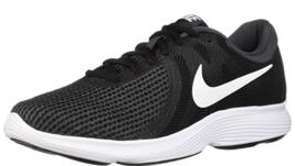 Nike Revolution 4 Tailles 11.5 M (D) Eu 45,5 Homme Chaussures Course Noir - $48.98