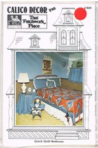 Calico Decor from That Patchwork Place Quick Quilted Bedroom Pattern - $7.99