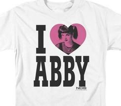 NCIS Drama TV series I Love Abby white cotton graphic t-shirt CBS817 image 2