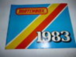 VINTAGE DIECAST MATCHBOX 1983  CATALOGUE- GOOD SHAPE - H34 - $4.75