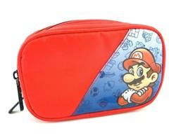 Nintendo Super Mario Starter Kit Case Protective Carry Bag Red DS Handheld - $25.60