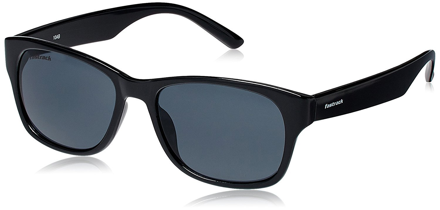 Fastrack Gradient Wayfarer unisex Sunglasses (PC001BK19|62|Black)
