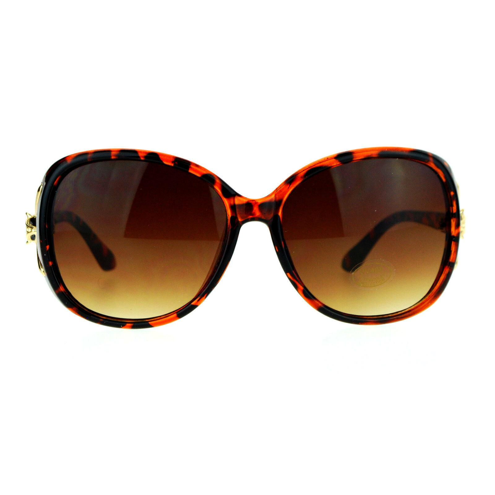 Womens Fashion Sunglasses Round Square Fox Design Shades UV 400