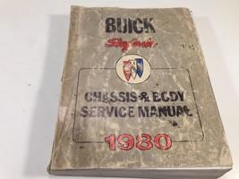1980 Buick Skylark Factory Shop OEM Chassis & Body Service Manual - $14.99
