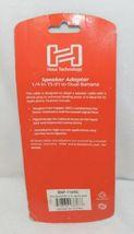 Hosa Technology BNP116RD Speaker Adaptor Quarter Inch TS To Dual Red Banana image 3