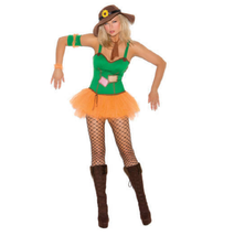 Sunflower Scarecrow Costume - Women's - $19.99