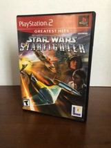 Star Wars: Starfighter - Greatest Hits (Sony PlayStation 2, 2002) - Complete PS2 - $9.49