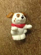 Fisher Price Little People Puppy Dog with Bandana - Brown/wihte - $3.99