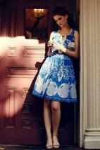 Anthropologie Azure Lace Dress Plenty by Tracy Reese Sz 0P image 3