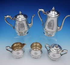 Debutante by Richard Dimes Sterling Silver Tea Set 5-Piece #81 (#3245) - $2,295.00