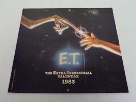 ORIGINAL Vintage Unused 1983 E.T. Extra Terrestrial Calendar - $18.49