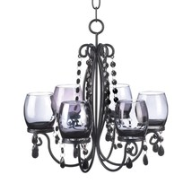Candle Chandelier Light, Chandelier For Candles - Black Hanging Chandeliers - $45.99