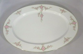 """Bavarian Platter China Heinrich- Selb Rosalinda Pattern Pink Rose 11.75""""... - $9.90"""