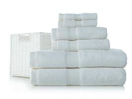 Concierge Collection 6-piece Cotton Towel Set w... - $42.06