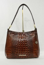 NWT Brahmin Farrah Leather Tote / Shoulder Bag in Pecan Melbourne - $249.00