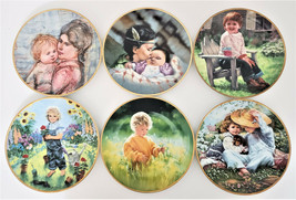 March Of Dimes 50th Anniv. Collectible Plate Knowles Collector Plates Lot of 6 - $126.42