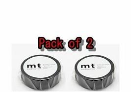 Kamoikakoshi masking tape matte black Volume 2 - $11.85