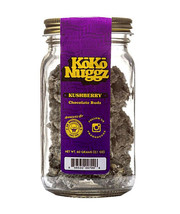 KOKO NUGGZ RICE CRISP GOURMET CHOCOLATE BUDS KUSHBERRY  FLAVOR 2.1 OZ GL... - $22.76