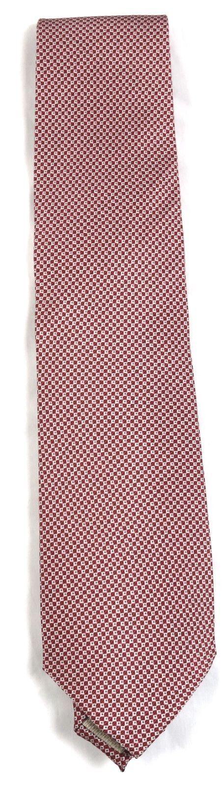 Tommy Bahama Men's Tie Classic Necktie 100% Silk Licensed Island Hop Red