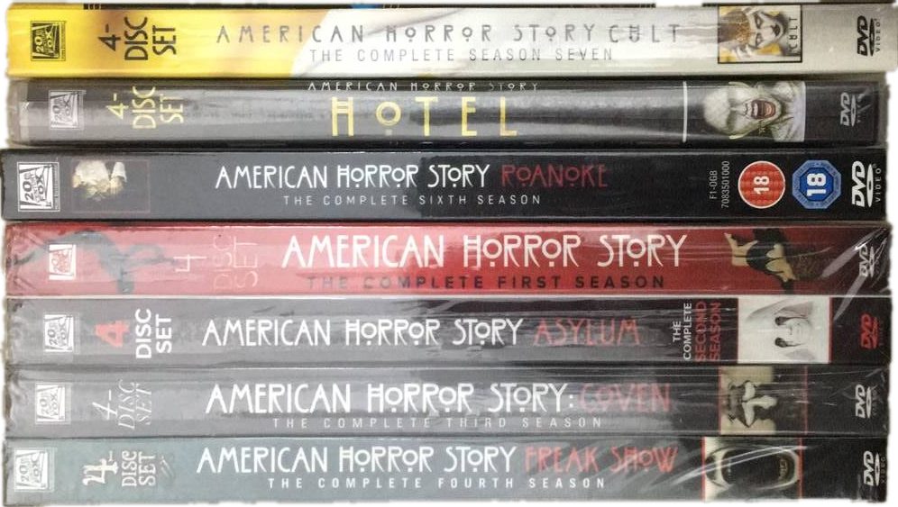 American Horror Story The Complete Seasons 1-7 DVD Box Set 27 Disc Free Shipping