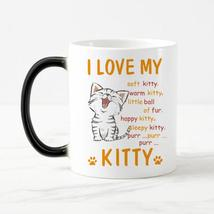 """I Love My Kitty"" Ceramic Coffee Mug - $24.99"