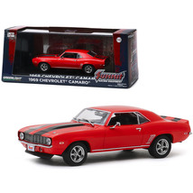 1969 Chevrolet Camaro Red with Black Stripes Summit Racing Equipment Sin... - $31.04