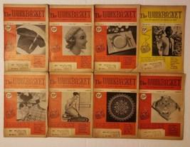 Workbasket Magazine Lot February-May July September November December 1955 - $19.79