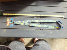 Walt Disney World Pin Trading Lanyard Yellow Stars With Tag Attached - $14.85