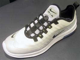 best sneakers 46a99 ca4cc Nike Air Max Axis Premium White-Black-Aluminum AA2148-100 - £93.48