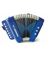 Kids BLUE Accordion Player Music Instrument 3 Years Old and Up Authentic... - $53.06