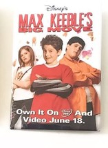 Disney's Max Keeble's Big Move Promotional Movie Pin Button Collectible Ad - $9.89