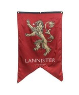 """Officially Licensed 48"""" x 30"""" GAME OF THRONES Lannister Sigil Banner Westeros - $8.61"""