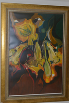 Flores Para Gabriela by Francisco Rodon Signed Serigraph 32/175
