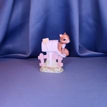 Squirrel in Mailbox Figurine Maruri Masterpiece by Enesco - $22.00