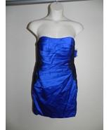 Davids Bridal Dress Size 2 Blue Horizon Strapless F15629 Bridesmaid NWT ... - $72.57