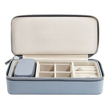 Stackers Dusky Blue Large & Petite Travel Jewelry Box - $64.01