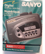 优质的 Sanyo Walkman AM / FM Digital Cassette Player Model MGR-927  -  $ 79.98