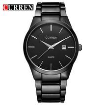 CURREN Luxury Classic Fashion Business Men Watches Display Date Quartz-watch Wri - $30.55