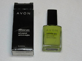 Avon nail Wear Pro Enamel Sweet Mint 12 ml 0.4 fl oz nail polish mani pedi - $10.66
