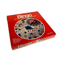 Bingo Board Game with Spinner Card for Beginners From Pressman New And Sealed - $13.83
