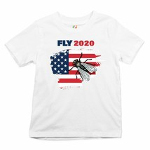 Fly 2020 USA Youth T-shirt Anti Trump Pence Presidential Debate 2020 Kids - $13.63+