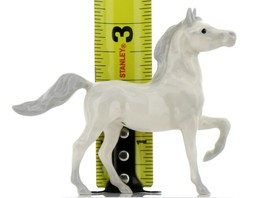 Hagen Renaker Miniature Horse Arabian Mare Leg Up Ceramic Figurine image 2