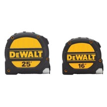 DeWalt - DWHT74441HDD - 25 ft. and 16 ft. Tape Measure - Set of 2 - $39.60