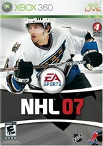NHL 07 2007 COMPLETE Microsoft XBOX 360 Game [video game] - $5.69