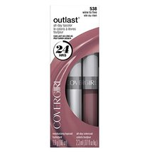 CoverGirl Outlast All Day Two Step Lipcolor, Wine To Five 538 - $14.99